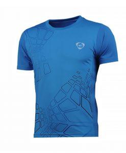T-shirt LSong Performance Coba Bleu