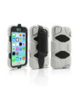 Military Series Case iPhone 5-5s Blanc