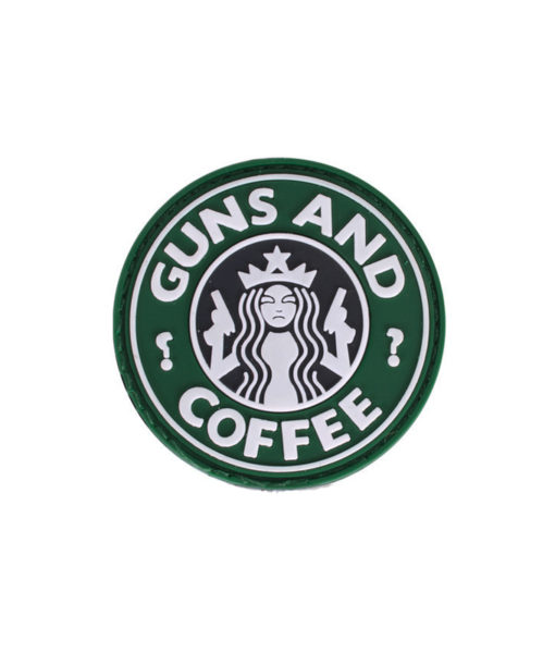 Morale Patch Guns And Coffee