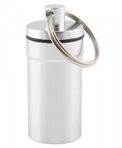 Porte-Cles Capsule 21 Aluminium