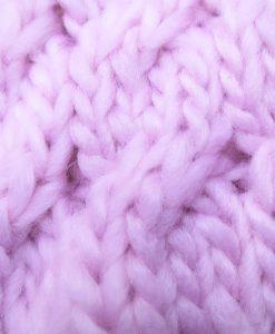 Bonnet Kampen Crochet Beanie Pink K02