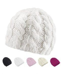 Bonnet Kampen Crochet Beanie White K