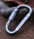 EDC Gear Mousqueton auxiliaire D-Lock EG07
