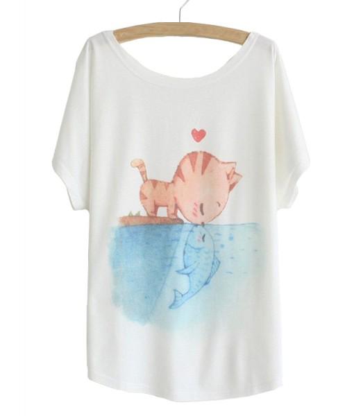 T-shirt Femme TCHA MAK TS1249-01