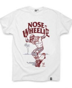 T-shirt NOSE WHEELIE Coontak