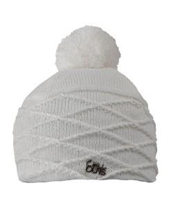 Bonnet Pompon Chillouts Thilda Blanc