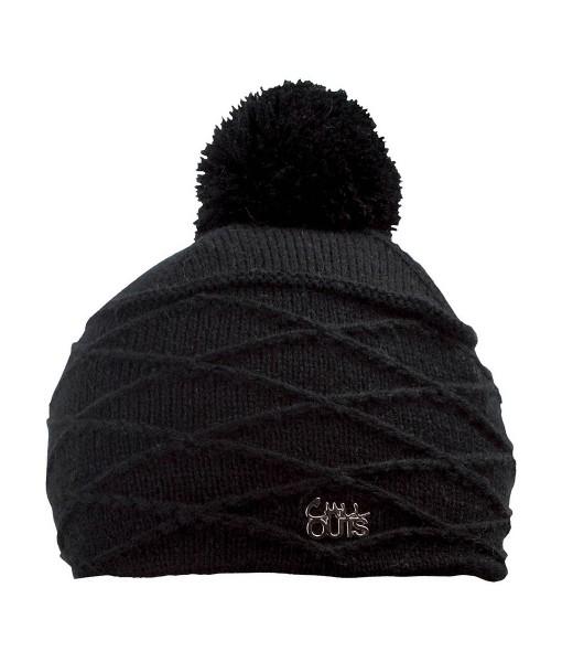 Bonnet Pompon Chillouts Thilda Noir