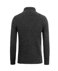 Cardigan zippé Skive Dark Grey 2