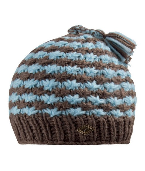 Chillouts Colleen Hat Brown Light Blue_0