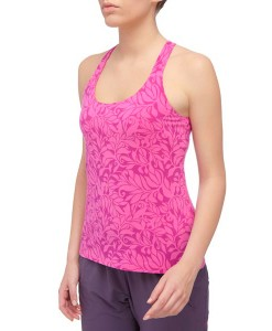 Gentle Stretch Cami Linaria Pink Vine Print The North Face 1