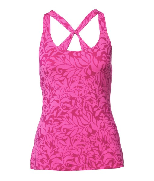 Gentle Stretch Cami Linaria Pink Vine Print The North Face 2