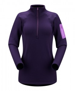 Rho AR Zip Neck Women 8