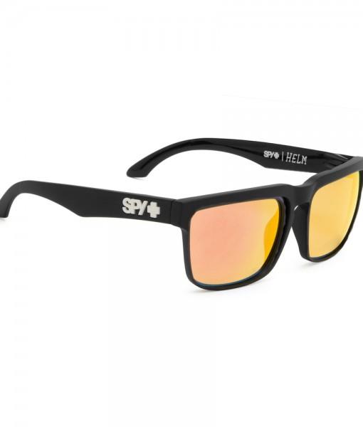 Spy HELM Black Black - Yellow Spectra