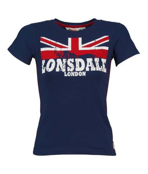 T-Shirt Erykah Navy Girly Lonsdale 1