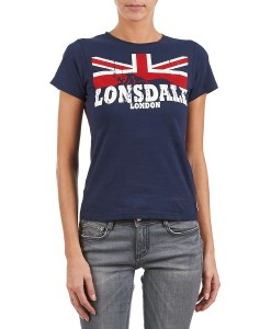 T-Shirt Erykah Navy Girly Lonsdale 2