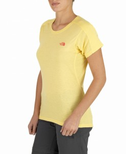 T-Shirt Pantoll Mayan Yellow The North Face 2
