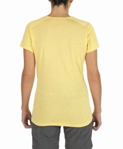 T-Shirt Pantoll Mayan Yellow The North Face 4