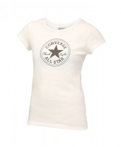 T-shirt Lana Creme Converse 1