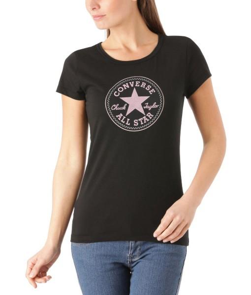 T-shirt Lana Gris Fonce Converse 1