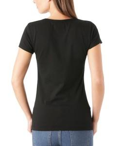 T-shirt Lana Gris Fonce Converse 2