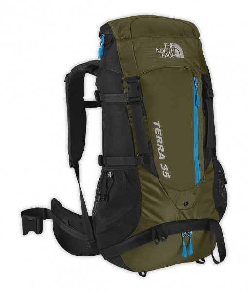 The North Face Terra 35 Pack Thorn Green 1