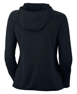 Trail Crush Full Zip Hoodie Noir Femme 01