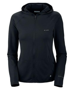 Trail Crush Full Zip Hoodie Noir Femme 03