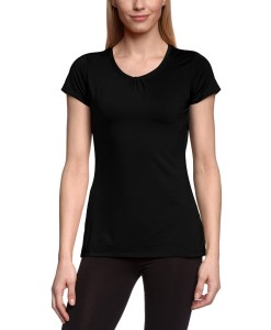 Trail Crush SS Top Hot Noir Femme Columbia 2