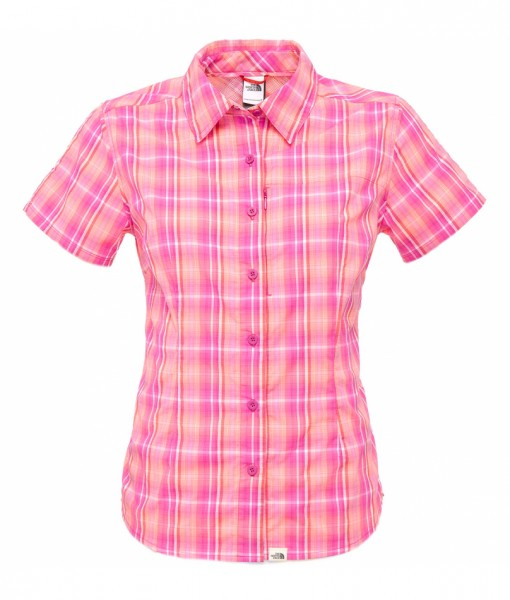 Boulder Penelope Woven Shirt Fuschia - The North Face 1