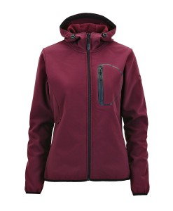 City Stormwall Softshell Jacket Grape Salewa 3