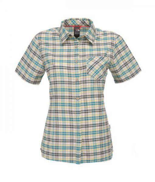 The North Face SS Etive Shirt Dune Beige Woman 1