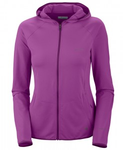 Columbia Trail Crush Hoodie Full Zip Razzle