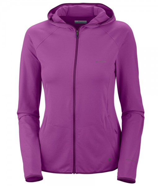 Columbia Trail Crush Hoodie Full Zip Razzle Femme 01