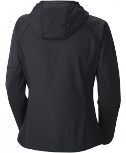 Columbia Womens Sweet As Softshell Hoodie 1