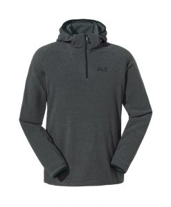 Jack Wolfskin Arco Hoody Black Stripes