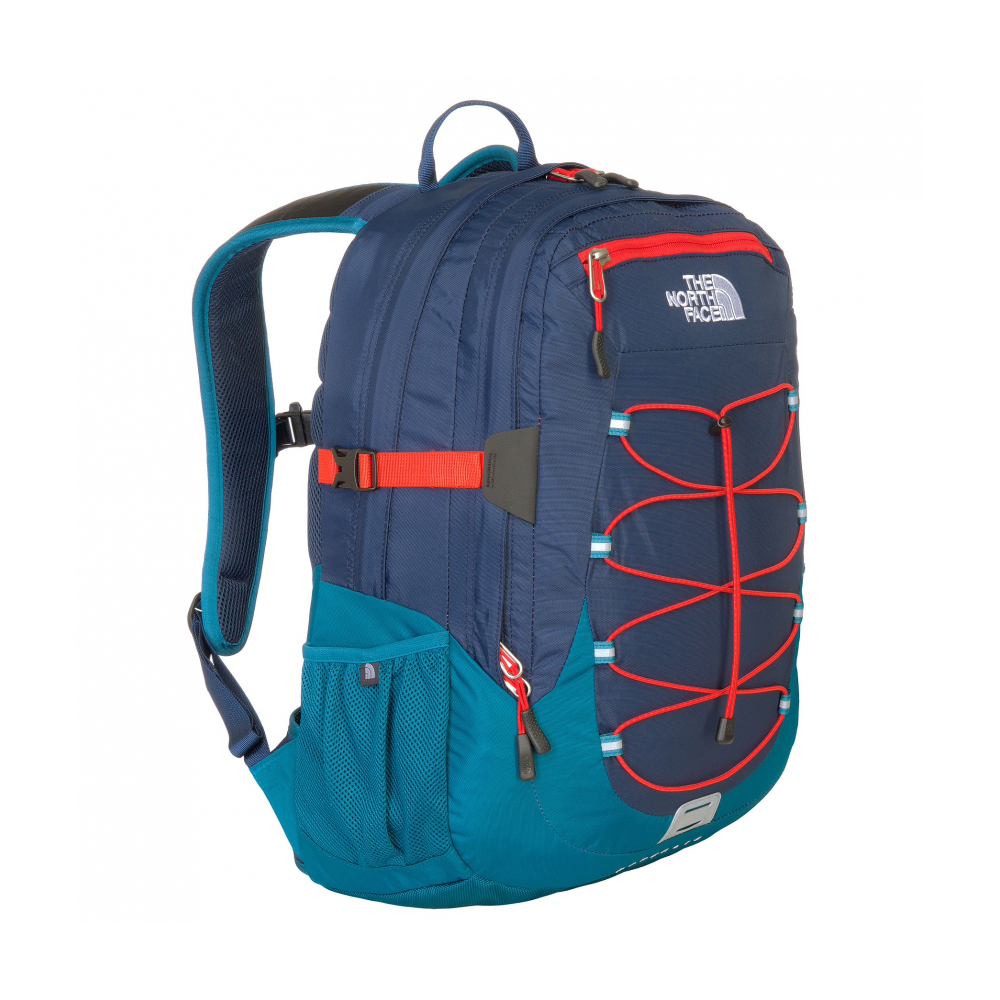 sac dos borealis the north face cosmic blue fiery red. Black Bedroom Furniture Sets. Home Design Ideas