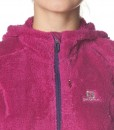 Salomon High Pile Hooded Midlayer Wild Berry 04