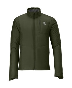Salomon Insulated Jacket Bayou Green 01