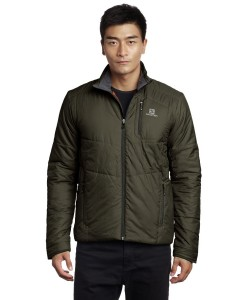 Salomon Insulated Jacket Bayou Green 02
