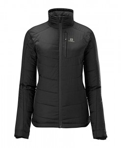 Salomon Insulated Jacket Black-Black Femme