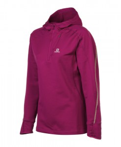 Salomon Swift Midlayer Wild Berry Femme 1