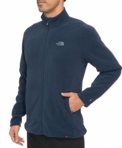 The North Face 100 Glacier Full Zip Fleece Cosmic Blue
