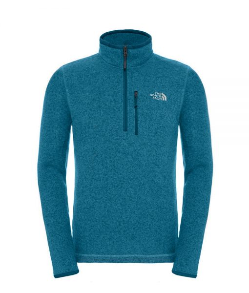 The North Face Gordon Lyons 14 Zip Prussian Blue