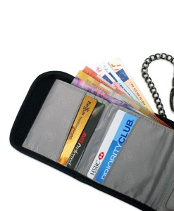Walletsafe™ 100 anti-theft tri-fold travel wallet