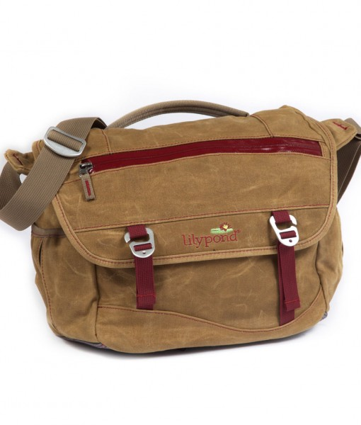 Lilypond Juniper Messenger Bag Earth