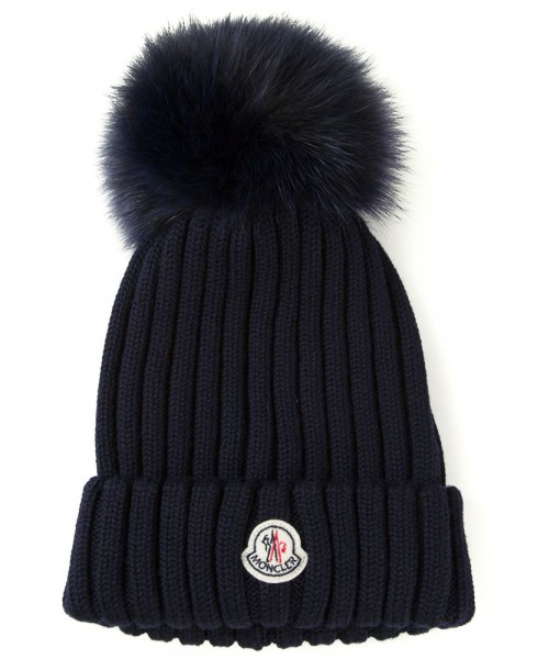 Moncler Navy Beanie 01