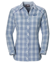 Jack Wolfskin Harrison Shirt Smoke Blue Checks W