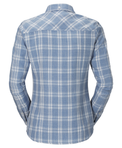 Jack Wolfskin Harrison Shirt Smoke Blue Checks W2