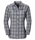 Jack Wolfskin Harrison Shirt Smoke Night Blue Checks W