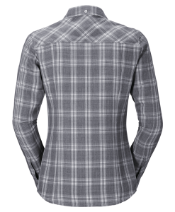 Jack Wolfskin Harrison Shirt Smoke Night Blue Checks W2